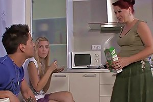 His Mom Fucks Teen On The Kitchen Free Hd Porn Mobile