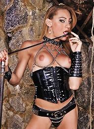 Kinky shemale mistress Mylen...