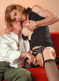 Stunning Jasmine Jewels having some naughty fun with Ray